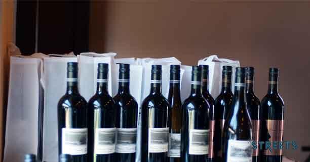 A range of Charosa Wines