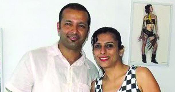 MANISHA KHANNA & SAURABH KHANNA
