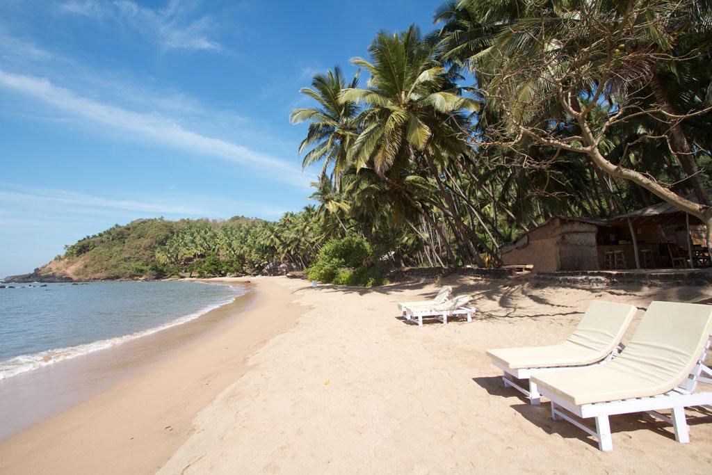 Mesmerizing view at Cola Beach, South Goa