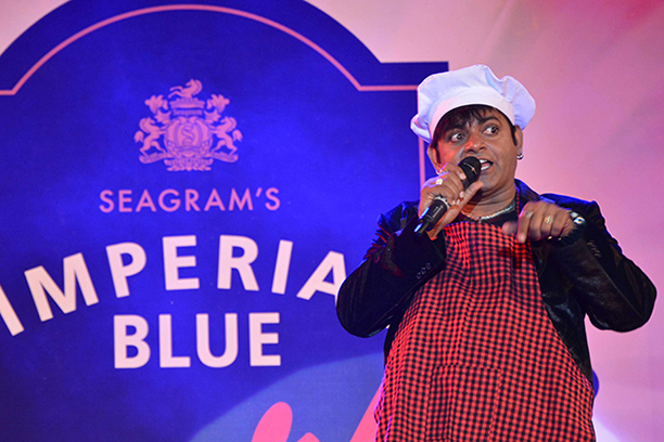 Television reality star VIP performing at Imperial Blue Superhit Nights at Campal,Goa -1
