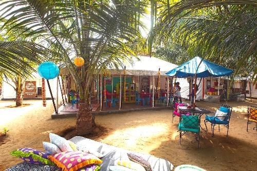 "new shopping center near ""La Plage"" Aswem beach, Bardez Goa"